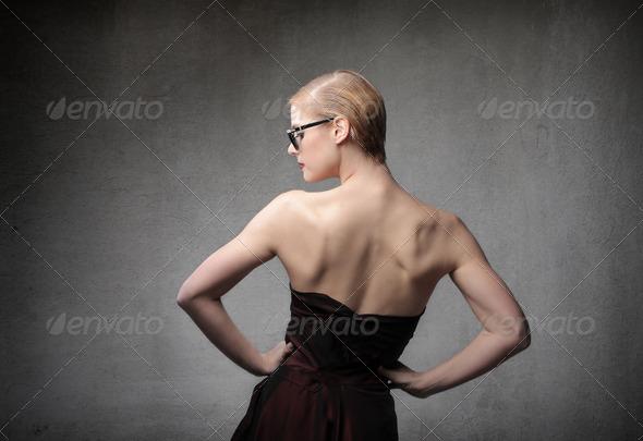 Blonde Back - Stock Photo - Images