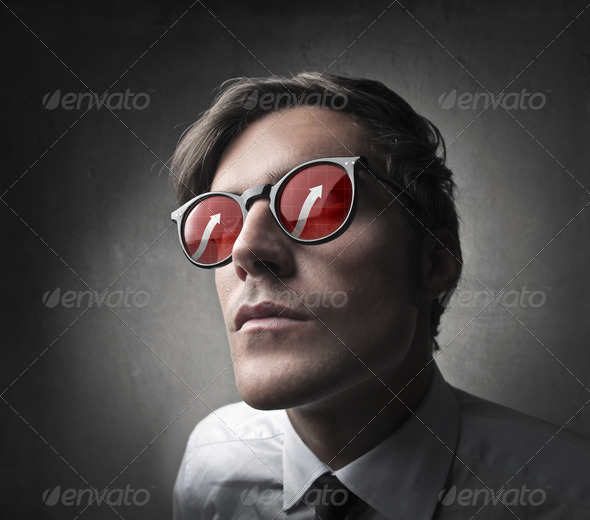 Positive Glasses - Stock Photo - Images