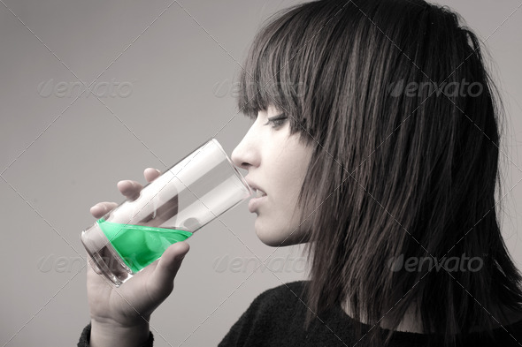 Colored Liquid - Stock Photo - Images