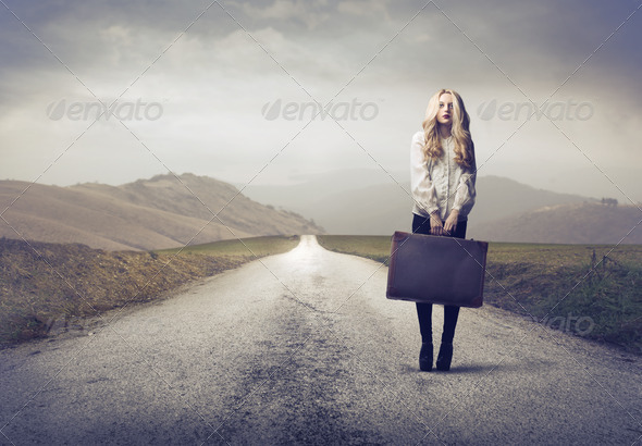 Long Trip - Stock Photo - Images