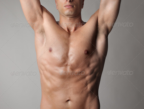 Muscular Body - Stock Photo - Images