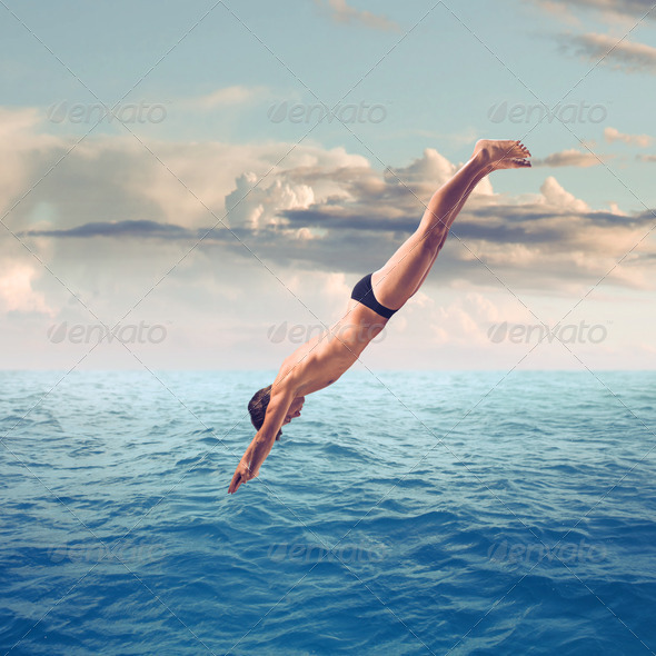 Dive - Stock Photo - Images
