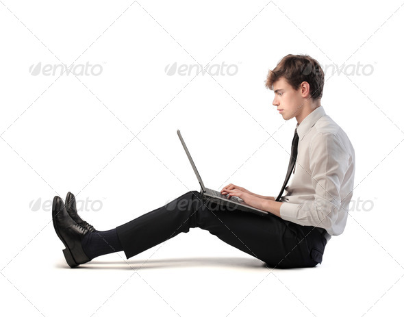 Professional Young Man - Stock Photo - Images