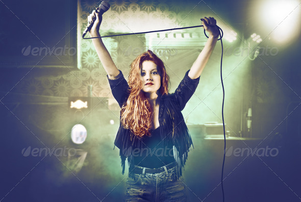 Concert - Stock Photo - Images