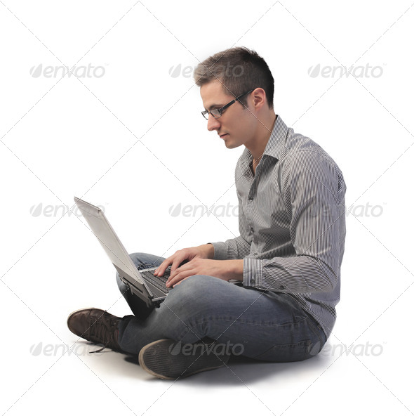 New Young Man - Stock Photo - Images