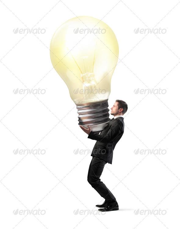 Big Bulb - Stock Photo - Images