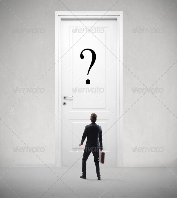 Business Question - Stock Photo - Images
