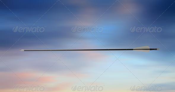 Arrow Shot - Stock Photo - Images