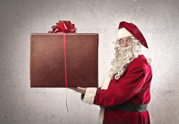 A Big Present for You - Stock Photo - Images