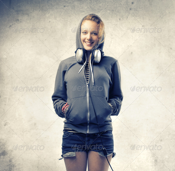 Smiling Blonde - Stock Photo - Images