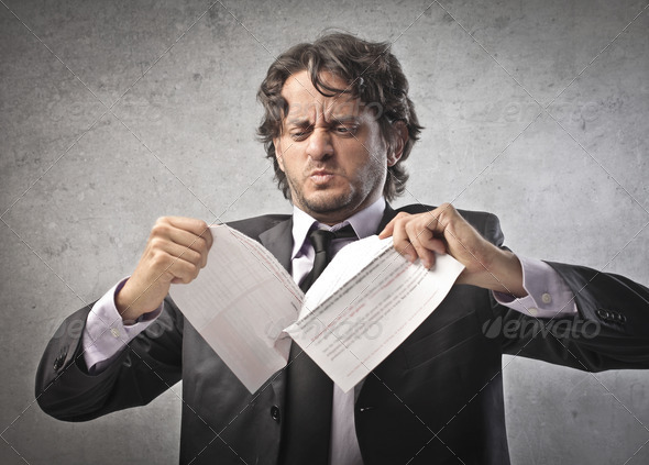 Rip Papers - Stock Photo - Images