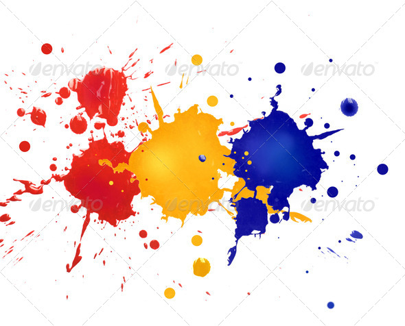 Red, Yellow, Blue - Stock Photo - Images