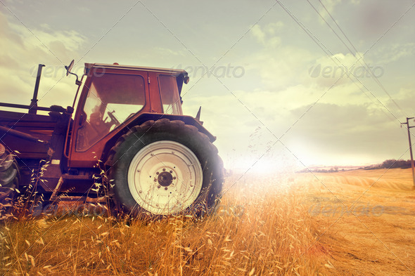 Tractor - Stock Photo - Images