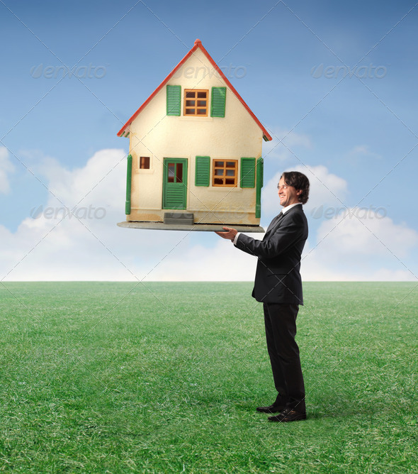 The Dream House - Stock Photo - Images