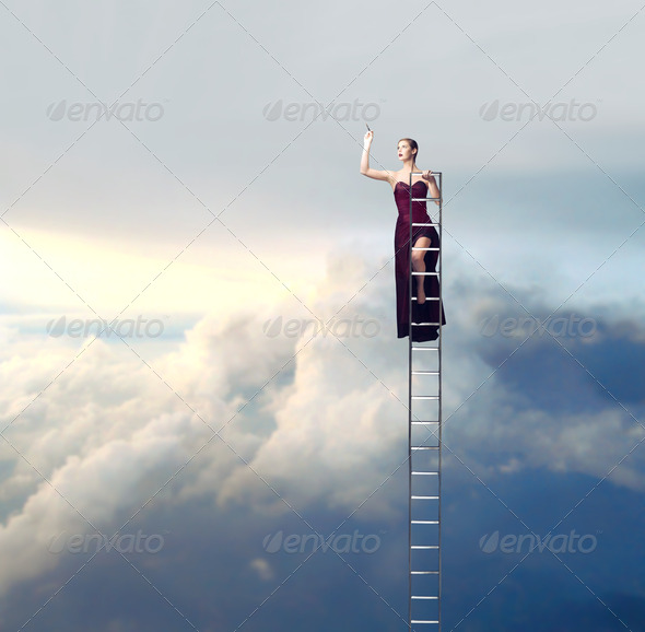 Scale in the Sky - Stock Photo - Images