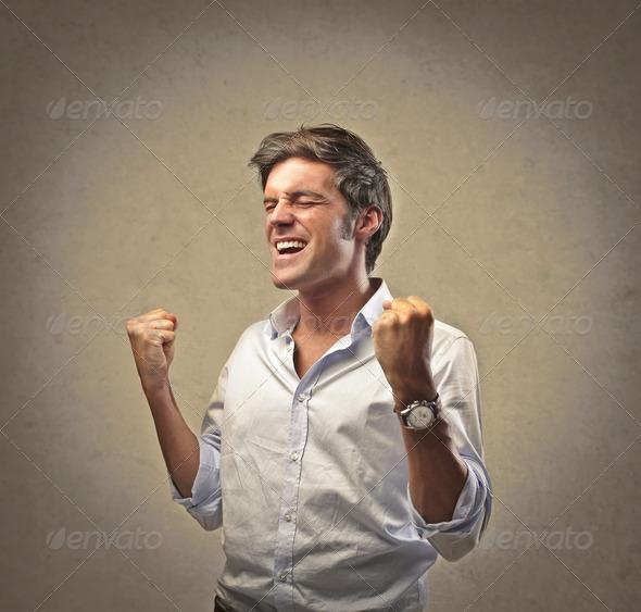 Man Success - Stock Photo - Images
