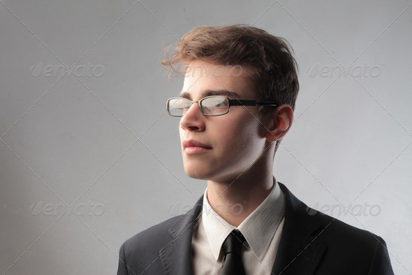 Professional Young Businessman - Stock Photo - Images