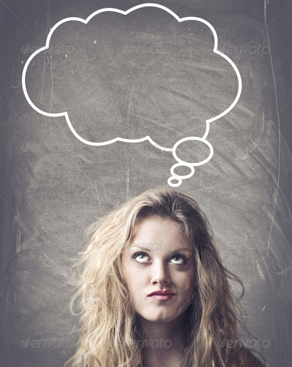 Empty Thought - Stock Photo - Images