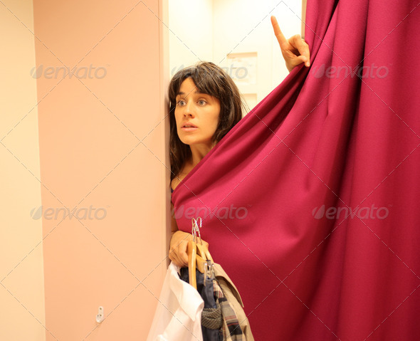 Fitting Room - Stock Photo - Images