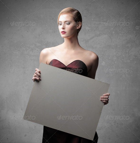 Elegant Cardboard - Stock Photo - Images