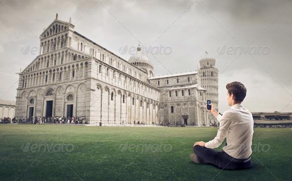 Pisa Duomo Photographer - Stock Photo - Images