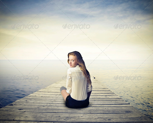 Alone? - Stock Photo - Images