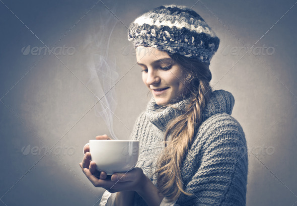 Hot Cup of Tea - Stock Photo - Images