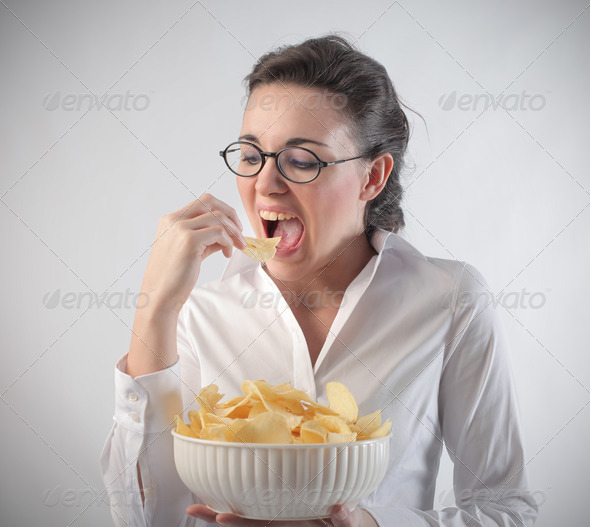 Chips - Stock Photo - Images