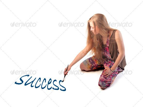 Written Success - Stock Photo - Images
