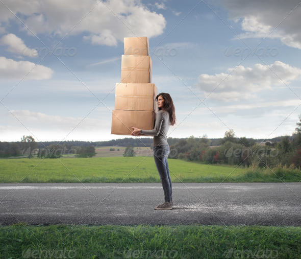 Boxes - Stock Photo - Images