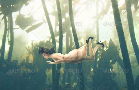 Explore Swimming - Stock Photo - Images