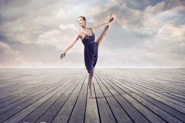 Stepping - Stock Photo - Images