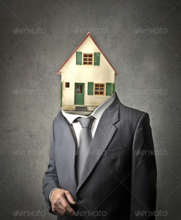 House Man - Stock Photo - Images