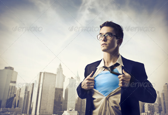Superboy - Stock Photo - Images
