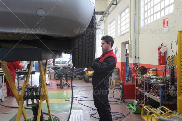 Mechanic - Stock Photo - Images