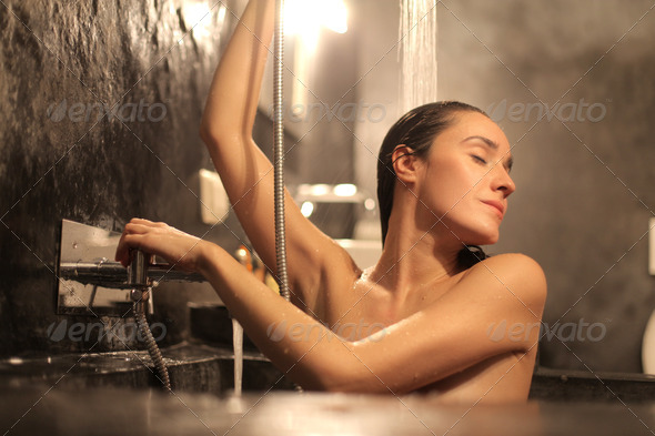 Relaxing Bath  - Stock Photo - Images