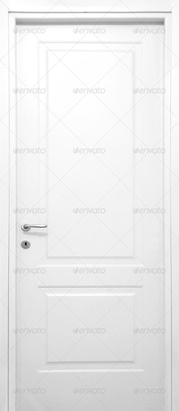 White Door - Stock Photo - Images