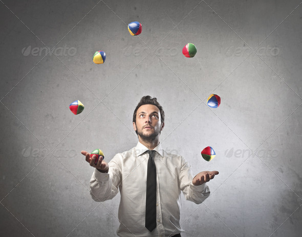Juggling - Stock Photo - Images