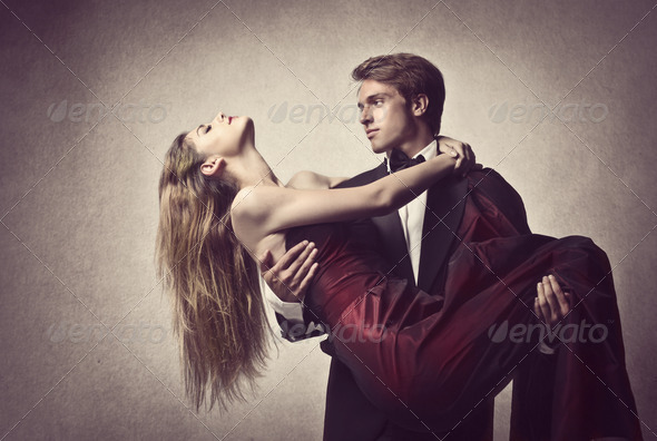 Young Romance - Stock Photo - Images