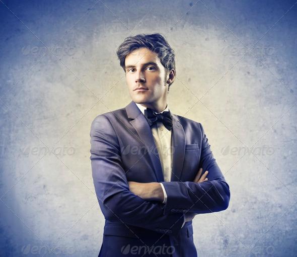 Fashionable Man - Stock Photo - Images