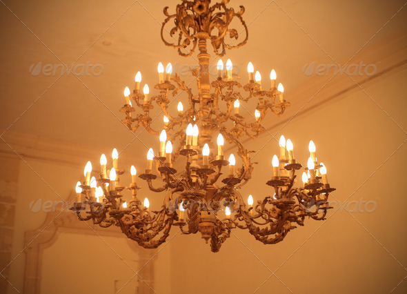 Chandelier - Stock Photo - Images
