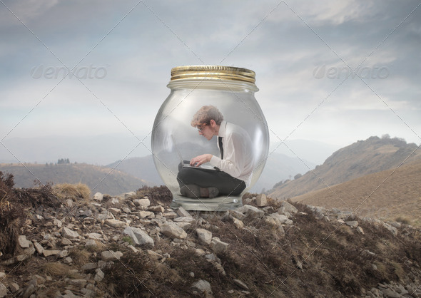 Trapped - Stock Photo - Images