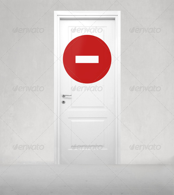 No Entry - Stock Photo - Images