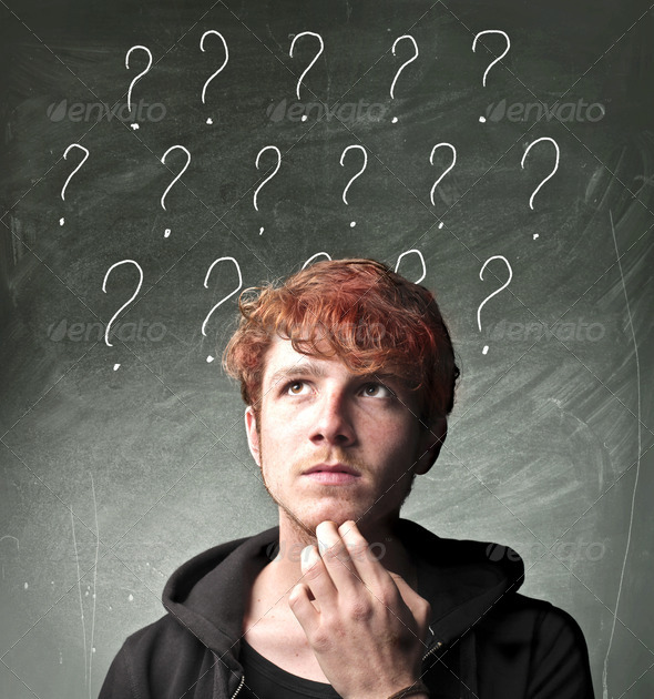 Many Questions - Stock Photo - Images