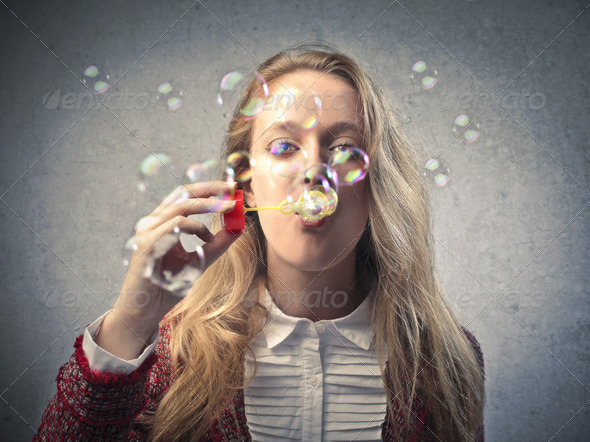 Bubble Blower - Stock Photo - Images
