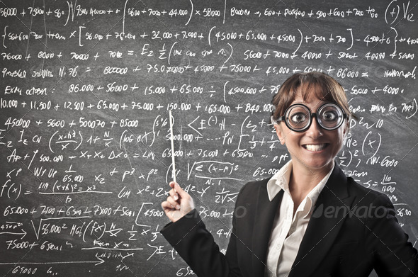 Ugly Teacher - Stock Photo - Images