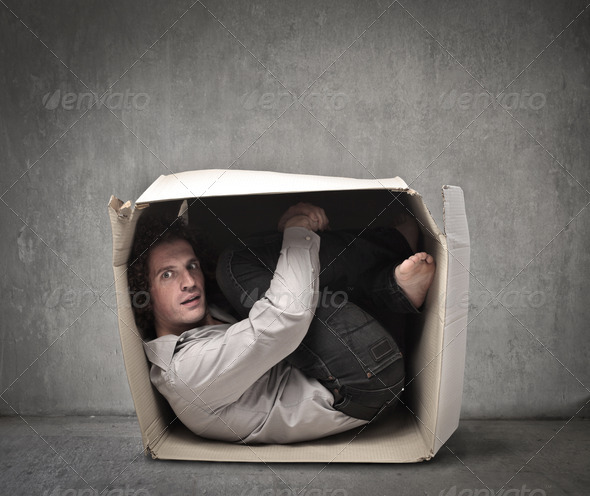In a Box - Stock Photo - Images