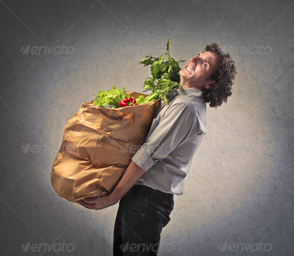 Too Many Vegetables  - Stock Photo - Images