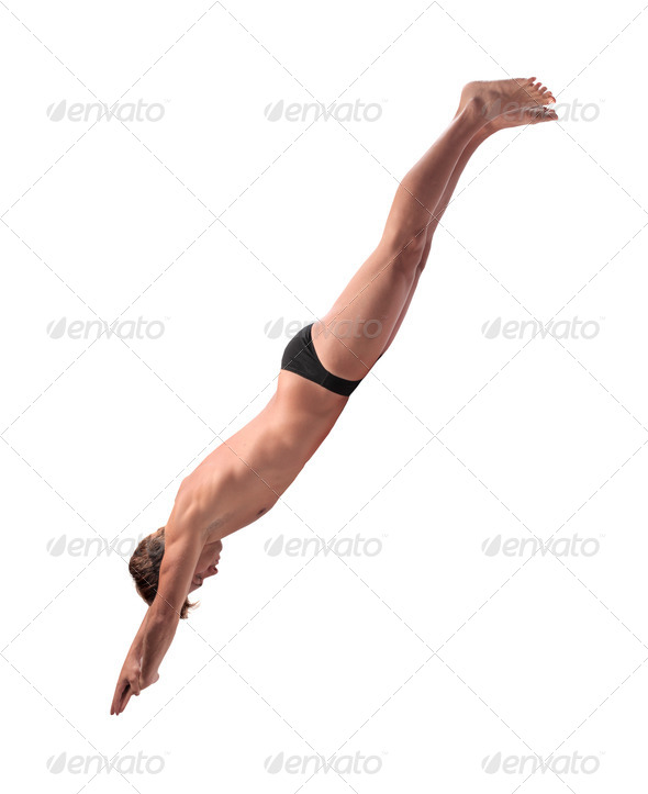 Diving - Stock Photo - Images