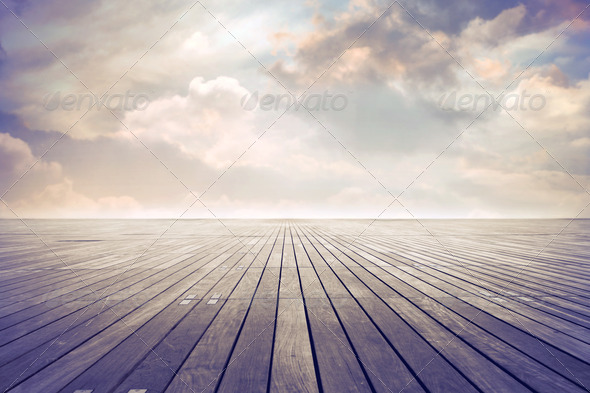 Wooden Surface - Stock Photo - Images